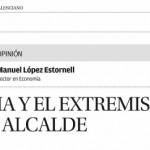 Gandia y el extremismo de un alcalde