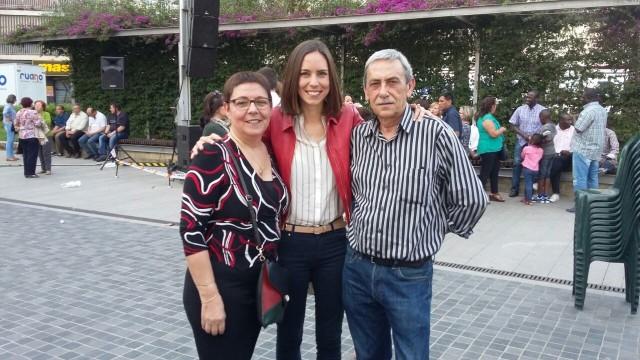 Diana Morant i els seus pares