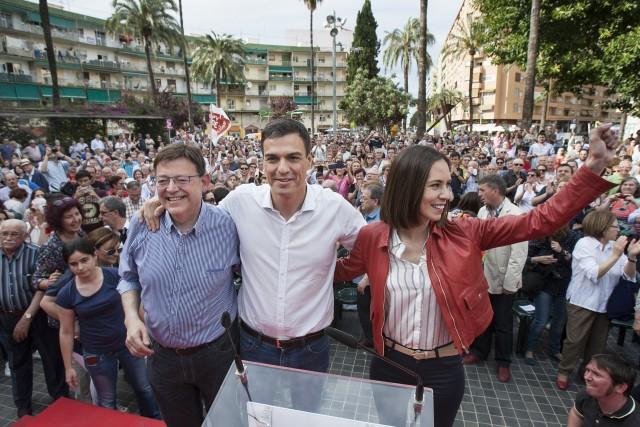 Ximo Puig, Pedro Sánchez Diana Morant