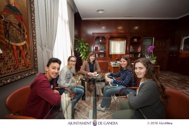 entrevista alumnos maría enríquez