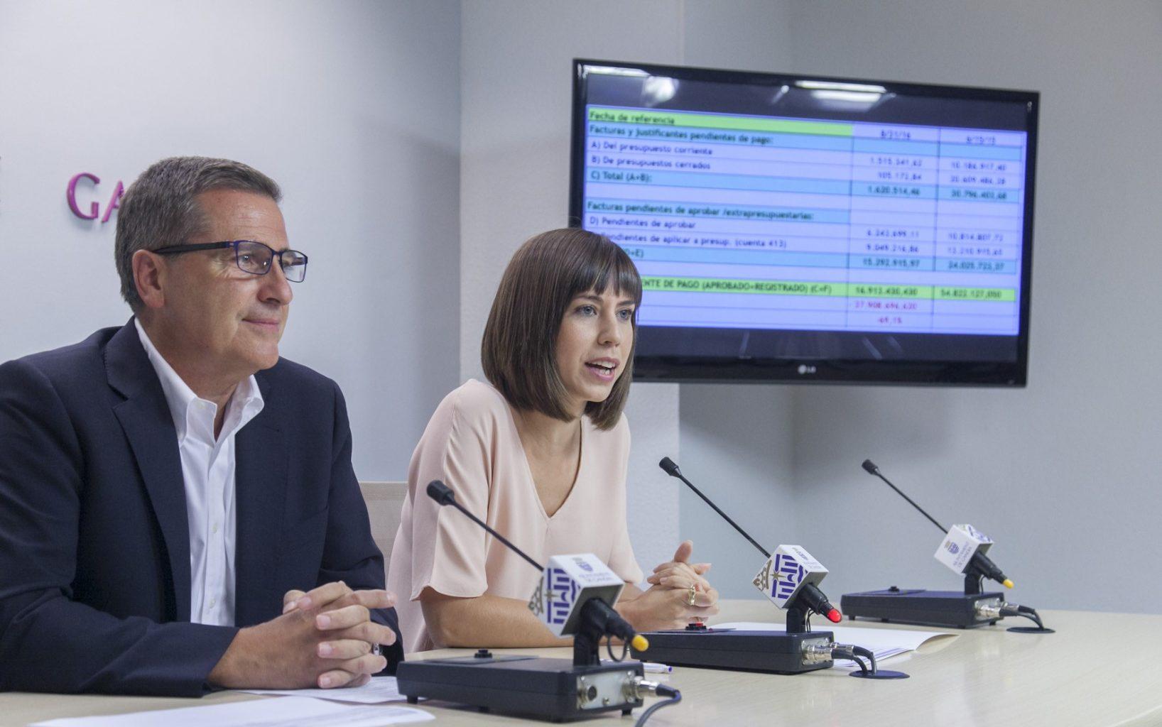 L'Ajuntament de Gandia paga el seu deute als proveïdors | Diana Morant