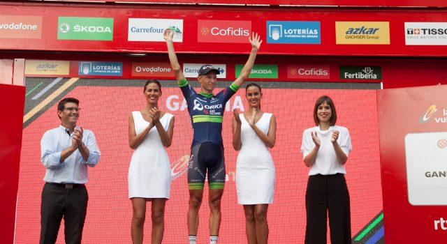 La Vuelta ciclista a España en Gandia | Diana Morant