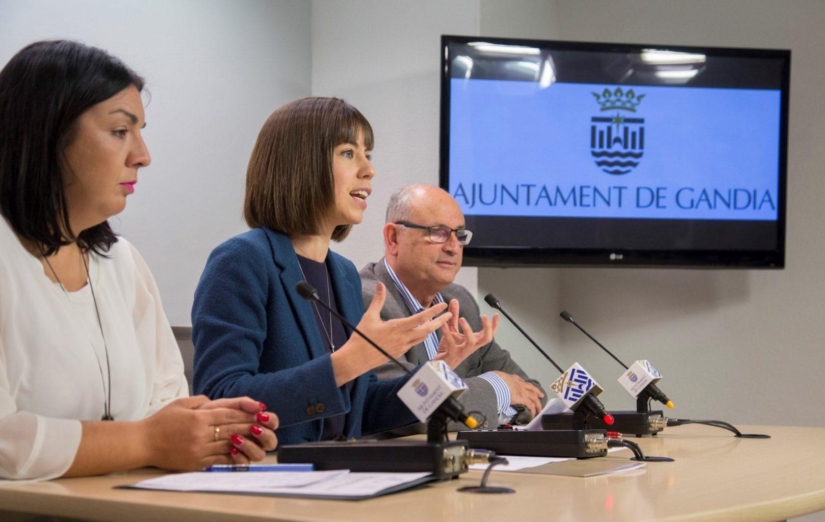 Diana Morant El govern de Gandia anuncia una baixada d'impostos