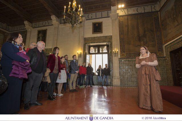DIANA MORANT ALCALDESA DE Gandia, Capital Cultural Valenciana