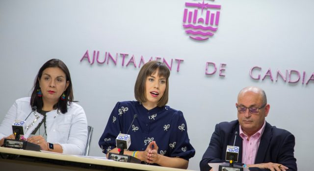Diana Morant, alcaldesa de Gandia, anuncia la liquidación de IPG