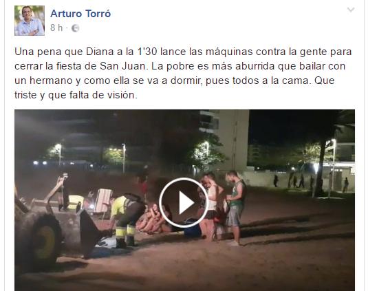 Arturo Torró Gandia Sant joan