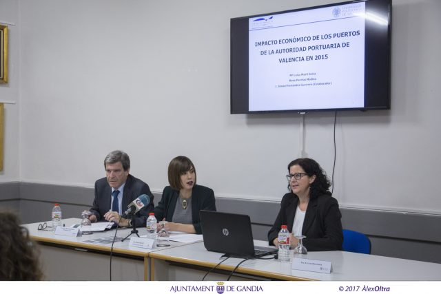 diana Morant estudio impacto económico puerto Gandia