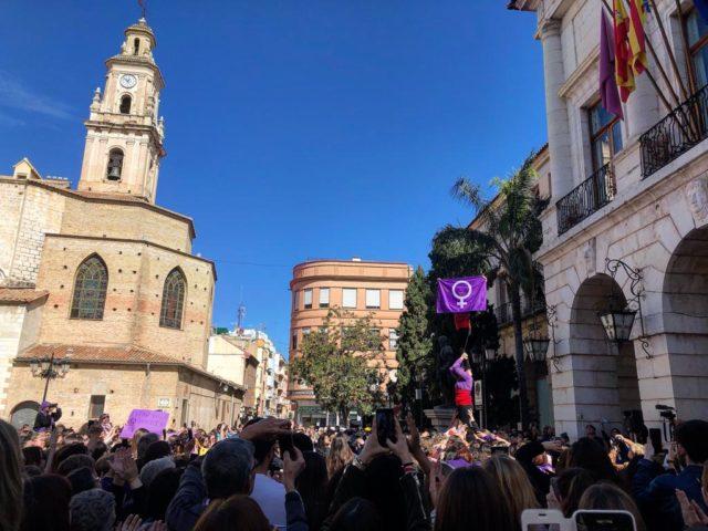 diana morant alcaldesa de gandia dia de la mujer 8 de marzo