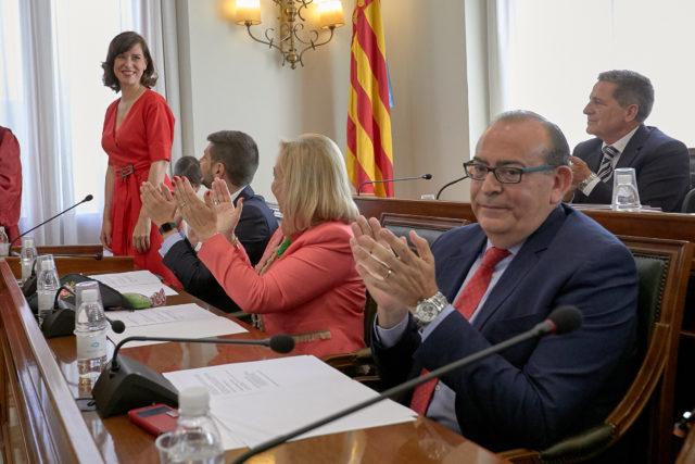 diana morant alcaldesa de gandia pleno investidura ayuntamiento